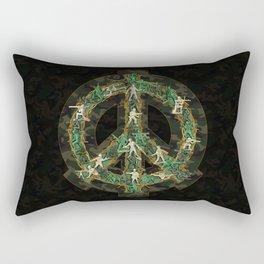 Peace Keepers Rectangular Pillow