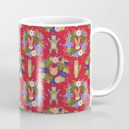 Khokhloma Forest Animals Coffee Mug