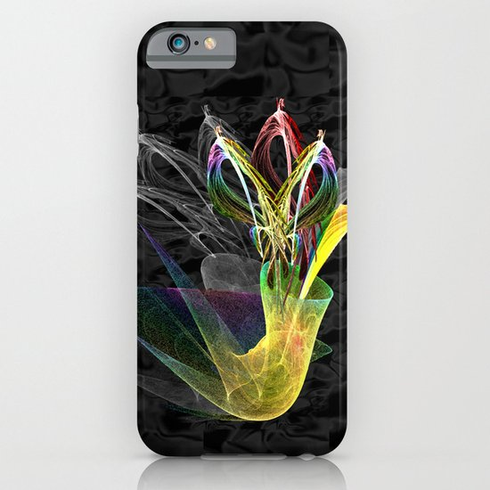 Fractal Flowers in a Vase iPhone & iPod Case