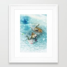 Teacup Racers Framed Art Print