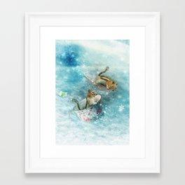 Teacup Racers Framed Art Print
