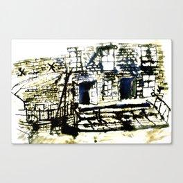 Dean Clough Mill One Canvas Print