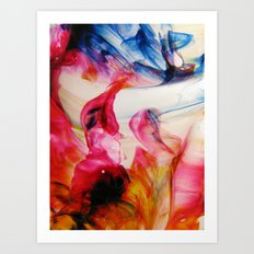 Dipole Moment Art Print