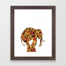 F & E. Framed Art Print