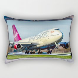 Jumo Jet at Manchester Rectangular Pillow