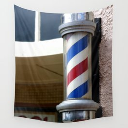 Barber Sign Wall Tapestry