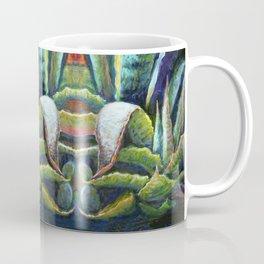 Agave Cactus Southwest Style Painting Coffee Mug