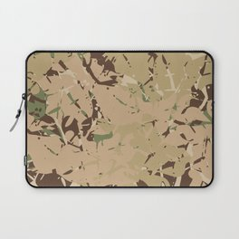 Camo pattern desert Laptop Sleeve