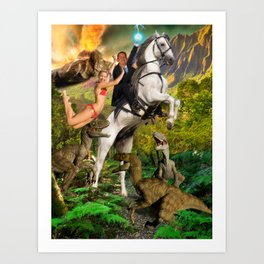 The Age of the Modern Wittler Art Print