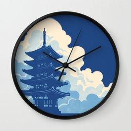 Nara Skyline Wall Clock