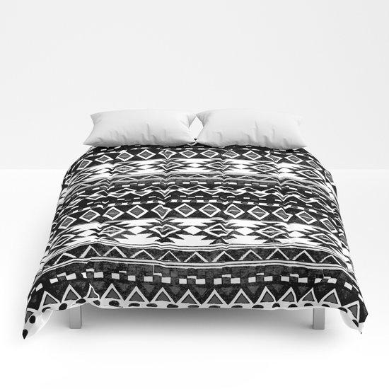 TRIBAL MONOCHROME Comforters