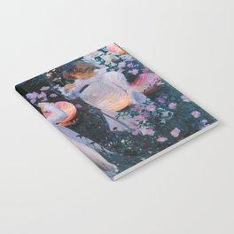 John Singer Sargent - Carnation, lily, lily, rose Notebook