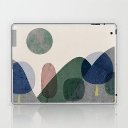 Trees and mountains Laptop & iPad Skin
