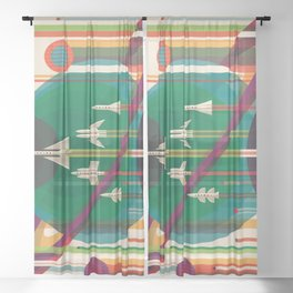The Grand Tour Sheer Curtain