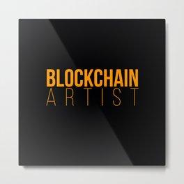 Bitcoin Cardano Metal Print