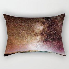Milky Way Grainy Detail // Amazing Shot of the Galaxy in Colorado Long Exposure Star Gazing Photo Rectangular Pillow