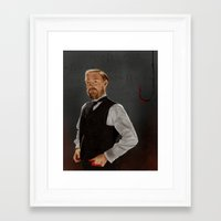 moriarty Framed Art Prints featuring Moriarty lives by San Fernandez