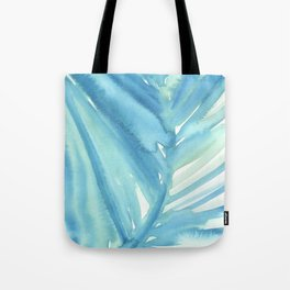 Abstract Palm Leaf Tote Bag