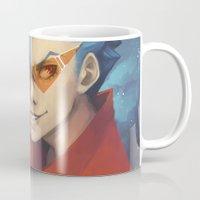 gurren lagann Mugs featuring Pierce the Heavens! by Zaley