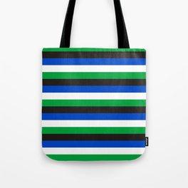 Torres Strait Islander flag stripes Tote Bag