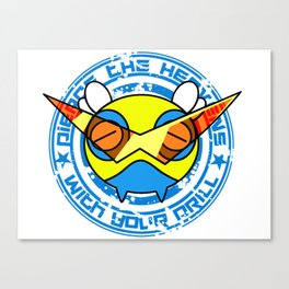 Mega Dunsparce Canvas Print