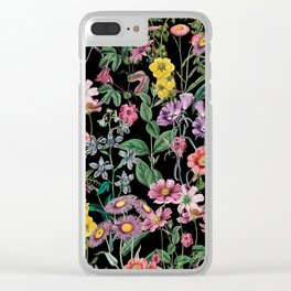 NIGHT FOREST XIV Clear iPhone Case
