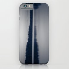 Black and White Sunset on Little Loon Slim Case iPhone 6
