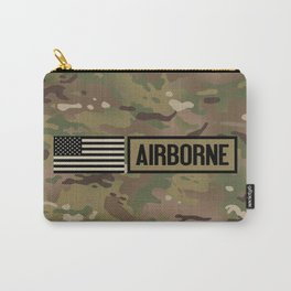 Airborne (Camo) Carry-All Pouch