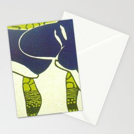 Nelly Marmorek Floating Forms Stationery Cards