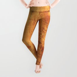 Vintage Texture Leggings
