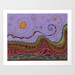 LandscapeEsquire Art Print
