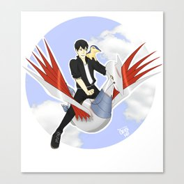 Pokémon Trainer Kageyama Canvas Print
