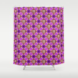 Floral Pattern 03 Shower Curtain