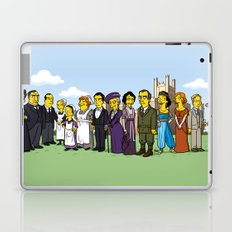 Downton Abbey cast Laptop & iPad Skin