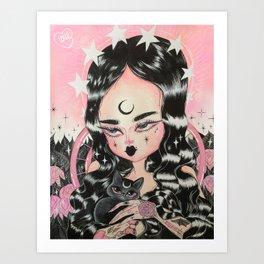 LADY NERA Art Print