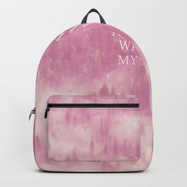 Run away with me my love Backpack