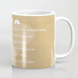 YaYa Typography Coffee Mug