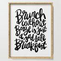 Brunch Without Booze is Just a Sad Late Breakfast by carolynsewell
