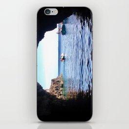 Blue Cave iPhone Skin