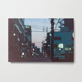 Good Morning Kyoto. Metal Print