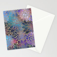 Floral Abstract 5 Stationery Cards