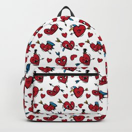 """Funny hearts"" Backpack"