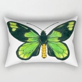 Queen Victoria's birdwing butterfly Rectangular Pillow