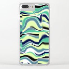 Abstract pattern 155 Clear iPhone Case