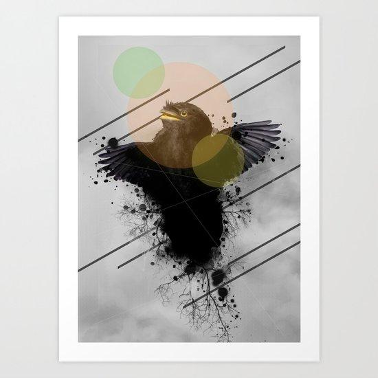 Midnight 20 Art Print
