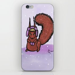 Nuts About Winter iPhone Skin