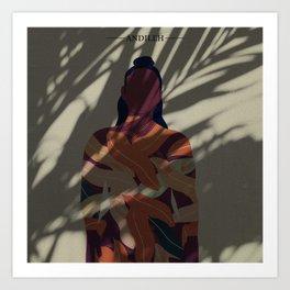 Under The shade  Art Print