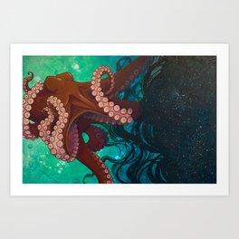 The Maker of Night Art Print