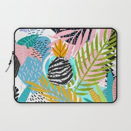 abstract palm leaves Laptop Sleeve