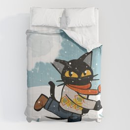 Snowball fight Comforters